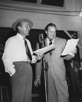 A photo of Leslie Townes  Bob Hope
