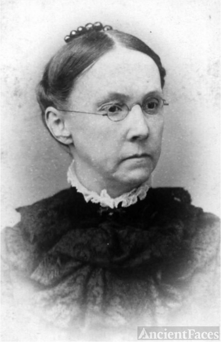 Mary Ann (Black) Hawkins, 1881