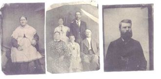 unknown English family members