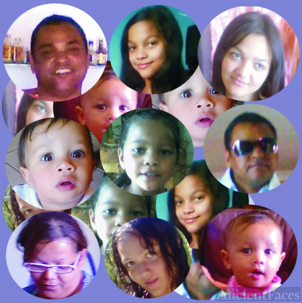 Poggenpoel Family Picture