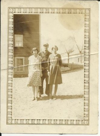 A photo of Walter&Rowenia Bubar-Woman on Left Unknown