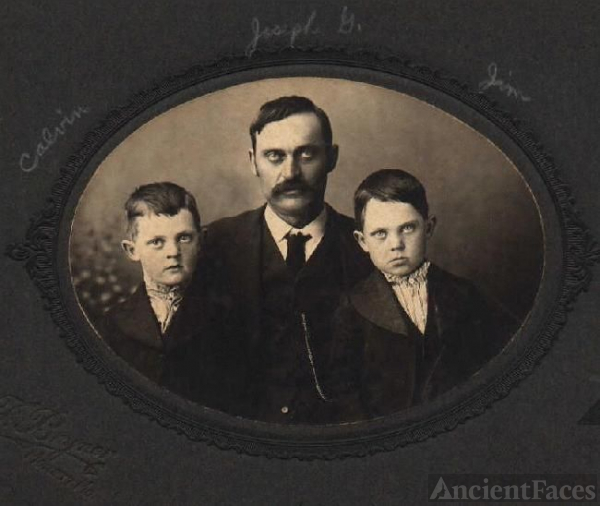Joseph Lasley, Calvin and James