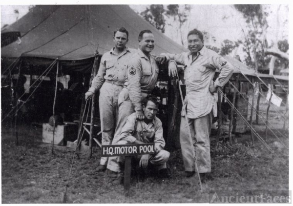Sergeant Razo in the Philippines