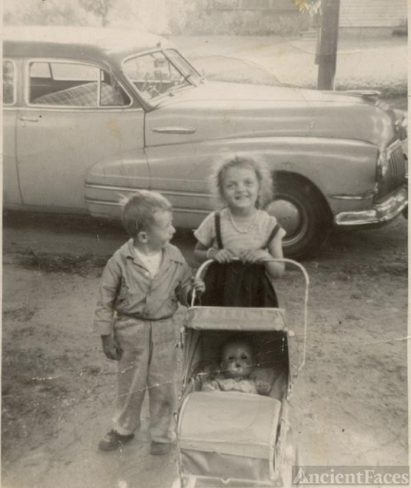 Jimmy and Margie c1952