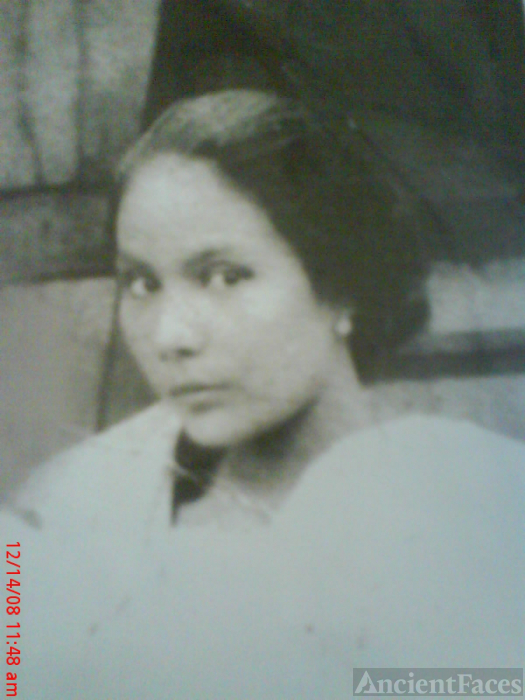 Unidentifed Abrera Woman, Philippines