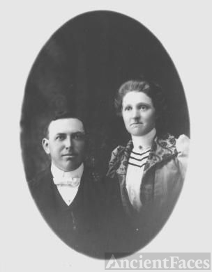 Overton Hickman and wife