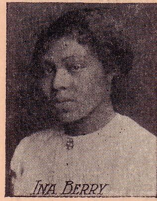 Ina Berry Polytechnic H.S. Los Angeles 1912