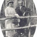 Mary E Alexander & her Father Thomas