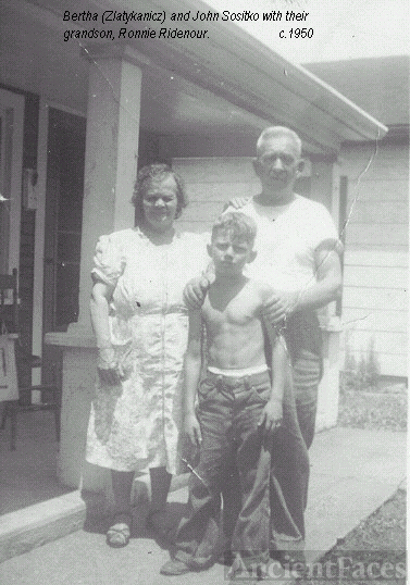 Bertha and John Sositko and grandson, Ronnie