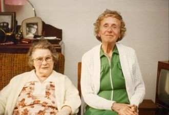 Great Aunty Edith and Great Aunty Cissie
