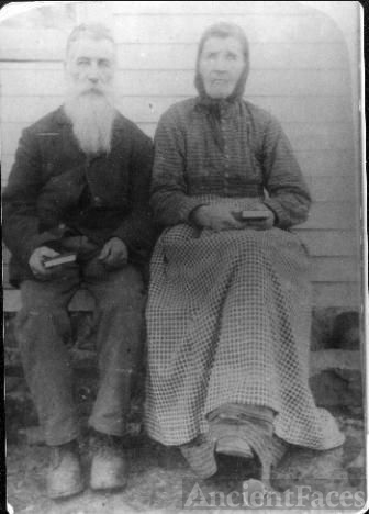 Frederick and Allie (Clark) Harvey