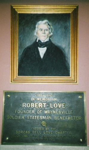 A photo of Col. Robert Love
