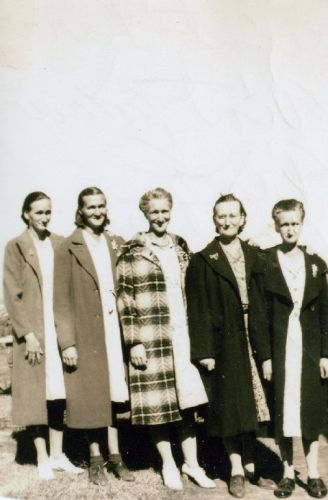 A photo of Connie,Laura,Emma,Mandy,Mary Guilliam