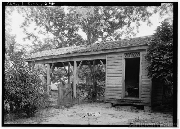 W.N. Manning photo of McDonald - Smartt House, Yard