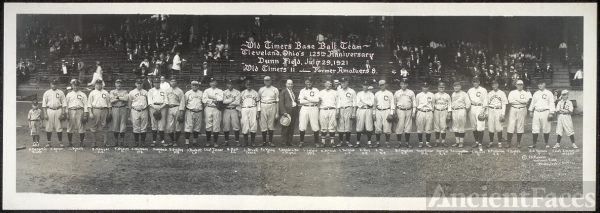 Old Timers base ball team, Cleveland Ohio's 125th...