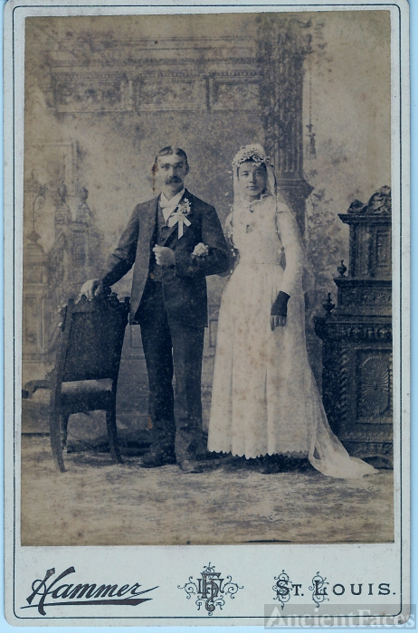 John Koch & Bertha Reinert Wedding