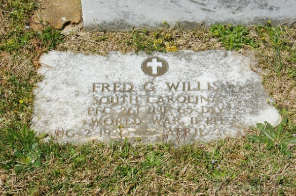 Fred G. Willis gravesite