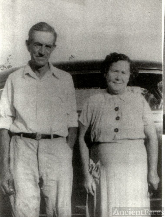 Mr and Mrs Abraham Franklin Robertson
