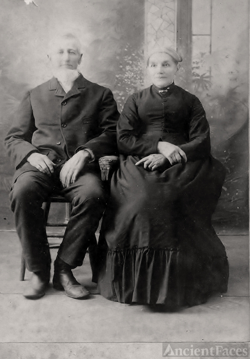 Alfred and Nancy Catherine Hawley