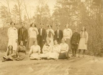 Oconee COunty SC School Photo ca 1915