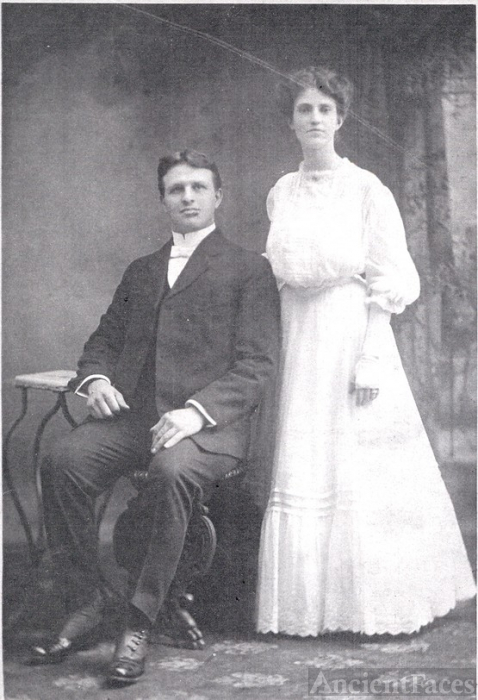 Ira Abraham Summers & Flossy Ivonne Shady wedding 1906