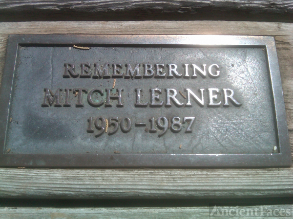 Mitchell A Lerner Plaque