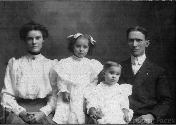 Merton & Nettie Dixon English Family