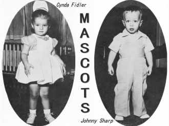 Cynda Fidler and Johnny Sharp, KY, 1955