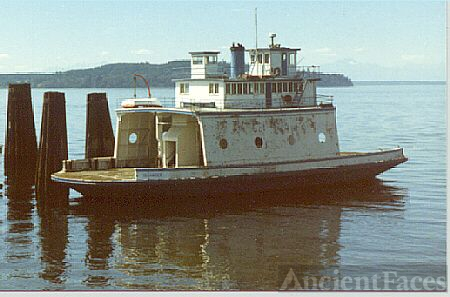 Steilacoom, Washington Ferry 1985