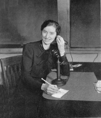 A photo of Mabel E. Eldridge