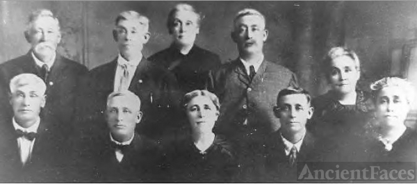 John Jacob and Harriet Poister Family