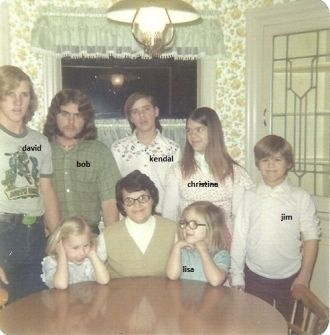 Klimper family, California 1980
