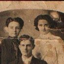 James Rains with Ester Slater and Lula Miller