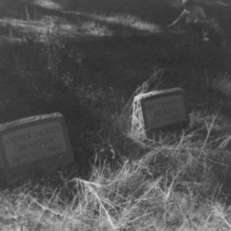 A photo of Headstones