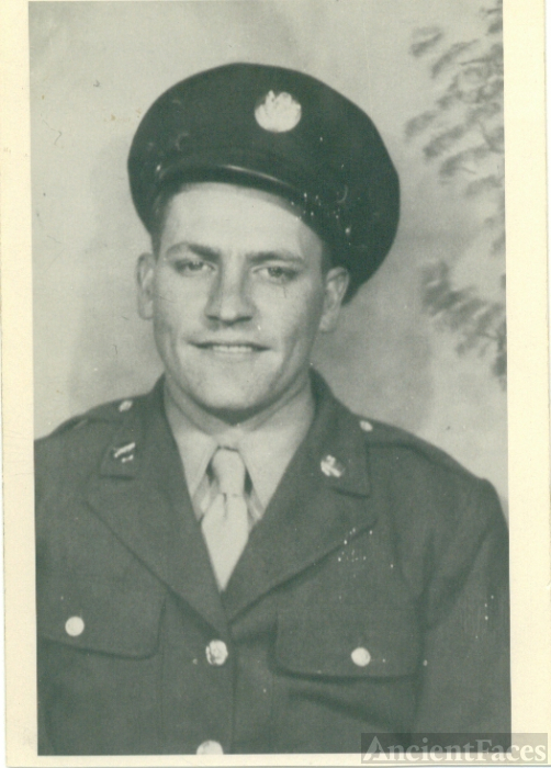 Charley Raymond Deeds in the Army