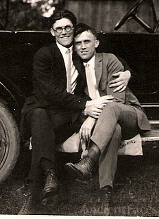 Ralph wingate and his brother Willard