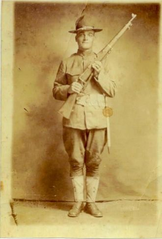 A photo of Pvt. John Virgil  Williams