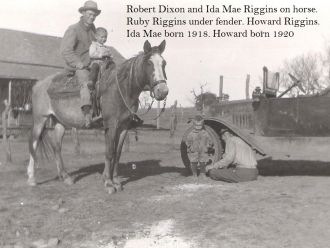 Robert Dixon & Riggins Family