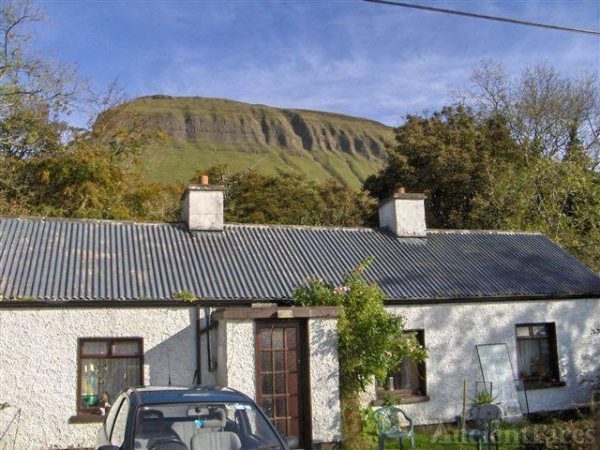 Older Hennigan cottage at Benbulben