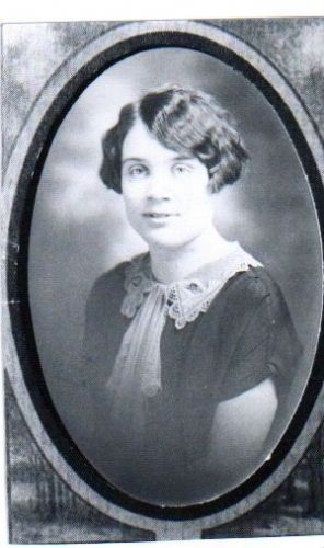 A photo of Ethel Carr Hazen