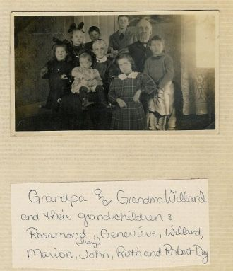 Catharine Ellis Rodig Willard & Richard Willard and grandkids