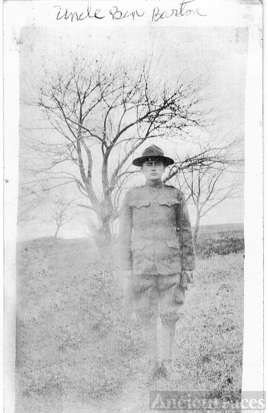 Great Uncle Benjamin Barton-WW I