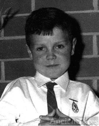 Stephen O'Connor age 8yrs
