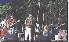Joe Nania onstage at Woodstock Festival