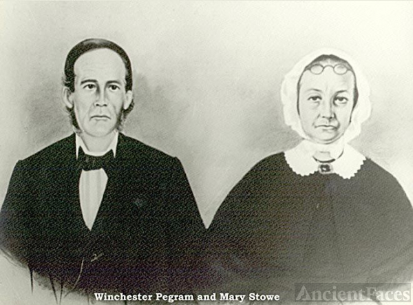 Winchester Pegram & Mary Stowe Pegram