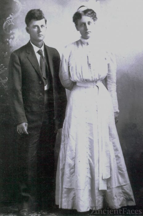 Charlie David Thornton Scott and Anna Mary Hawkins Scott