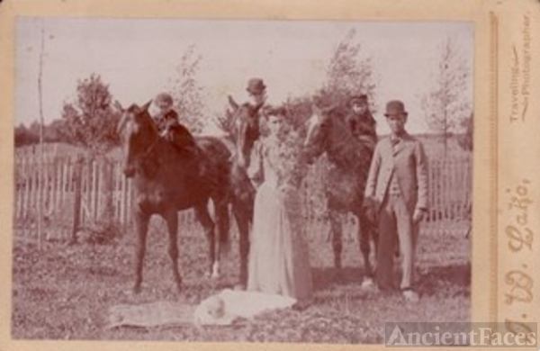The William Laton Freeman Family, Illinois