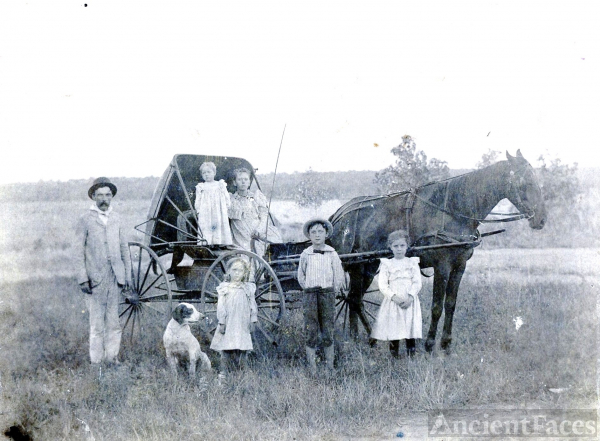 Robert Greene Family, Missouri
