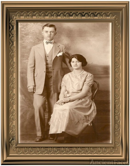 Bill & Julia Busch, MI 1924
