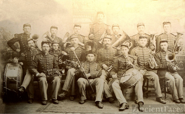 Rochester Normal College band 1895-1904